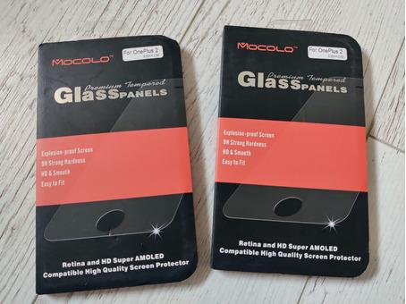 Новые защитные стекла для OnePlus 2