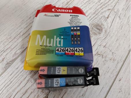 Картриджи цветные новые для Canon