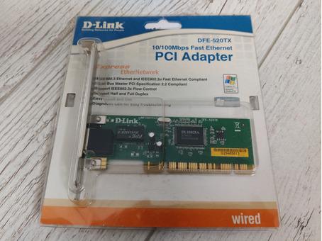 Карточка сетевая PCI