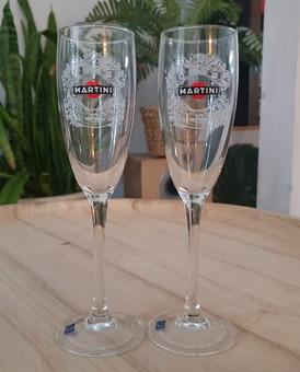 2 бокала для шампанского новые