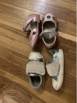 Туфли и кеды на девочку р.21